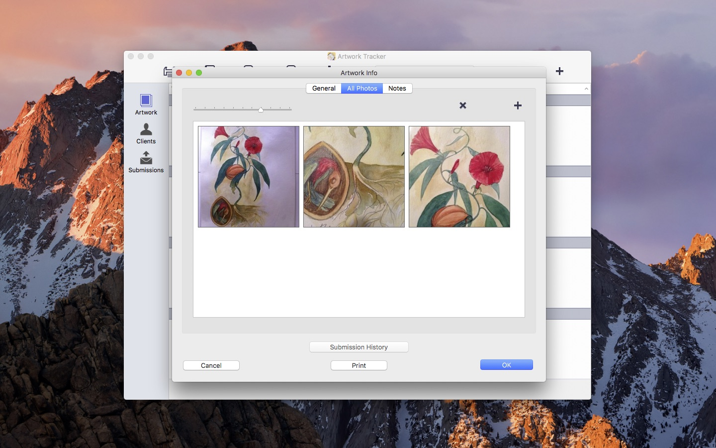 Artwork Tracker for Mac « The Fiction & Apps of Andrew Nicolle