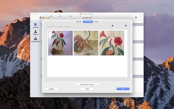 Artwork Tracker Photo Organization