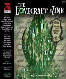 Lovecraft eZine April 2013